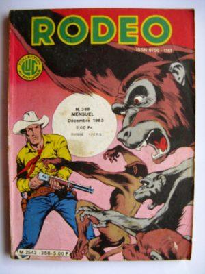 RODEO N°388 TEX WILLER – Pyramide mystérieuse (fin) LUG 1983