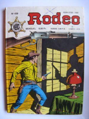 RODEO N°438 TEX WILLER – Un ranger du Texas (fin) LUG 1988