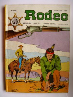 RODEO N°440 TEX WILLER – Le meutrier sans visage (3e partie) LUG 1988