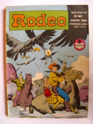RODEO N°461 TEX WILLER – Le secret de la Sierra Madre (4e partie) LUG 1990