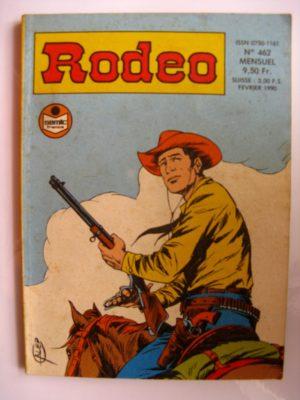 RODEO N°462 TEX WILLER – LE SECRET DE LA SIERRA MADRE (5e partie) SEMIC 1990
