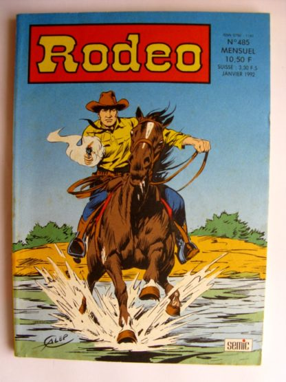 BD RODEO N°485 TEX WILLER