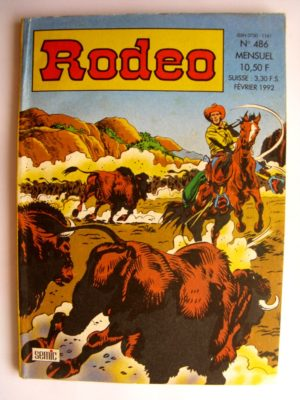 BD RODEO N°486 TEX WILLER