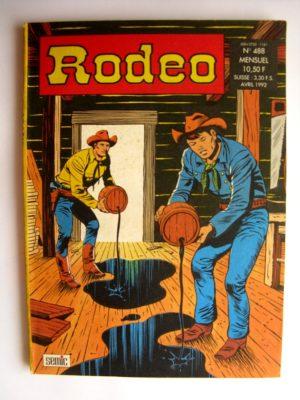 RODEO N°488 TEX WILLER – LE DELIT DE KIT CARSON (2e partie) SEMIC 1992