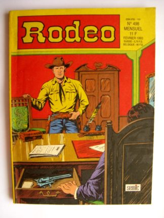 BD RODEO N°498 TEX WILLER