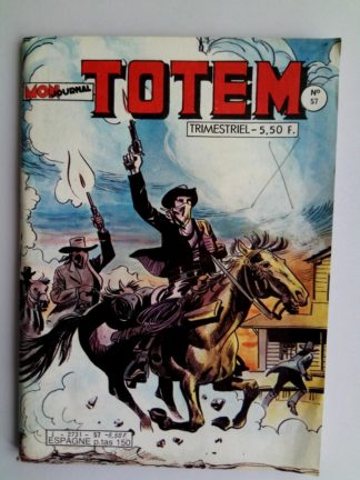 BD TOTEM 2E SERIE N°57 Mon Journal 1984 : Hors la loi - RENO KID - Steve Joker