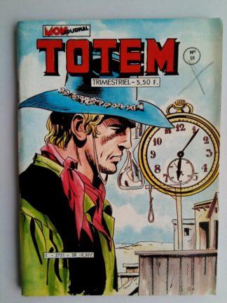 BD TOTEM 2e SERIE N°58 Mon Journal 1984 : Hors la loi - Marksman - Steve Joker