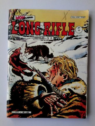 BD LONG RIFLE N°49 MON JOURNAL 1982 : Condor des Andes - Sans Pitié