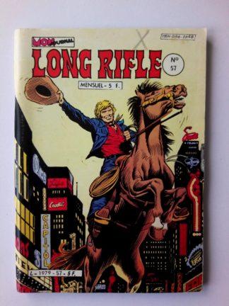 BD LONG RIFLE N°57 MON JOURNAL 1982 :L'aveugle qui tirait si bien