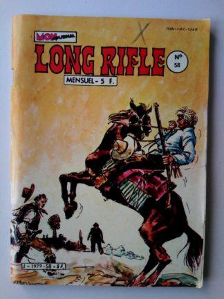 BD LONG RIFLE N°58 MON JOURNAL 1982 :La main du mort