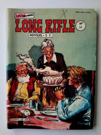 BD LONG RIFLE N°59 MON JOURNAL 1982 :Dick l'incorrigible