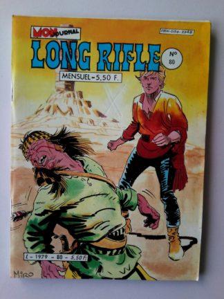 BD LONG RIFLE N°80 MON JOURNAL 1982 :vengeance indienne