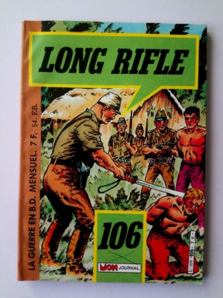 BD LONG RIFLE N°106 MON JOURNAL 1986 : JUNGLE JEEPERS