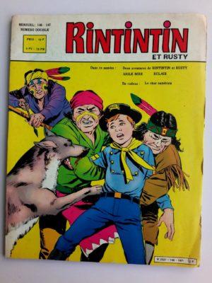RINTINTIN N°146-147 Numéro Double – SAGE 1982 (Aigle Noir)