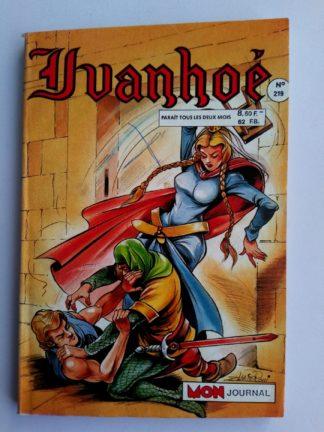 BD IVANHOE N°219 MON JOURNAL 1988 : Par amour de Rowena