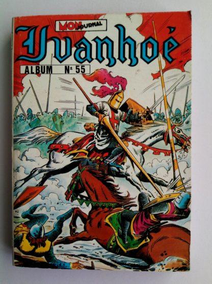 BD IVANHOÉ ALBUM 55 (N°202-203-204) MON JOURNAL 1984