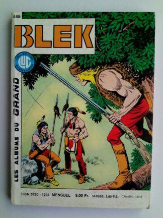 BD BLEK N°445 LUG 1988 : La mort aux aguets - Les Anges de l'enfer