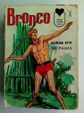 BD BRONCO ALBUM 9 (33-34-35-36) LUG 1968 : CORSAK - JED PUMA