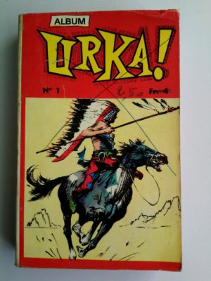 URKA ALBUM 1 (N°1-2) Editions des Remparts 1970