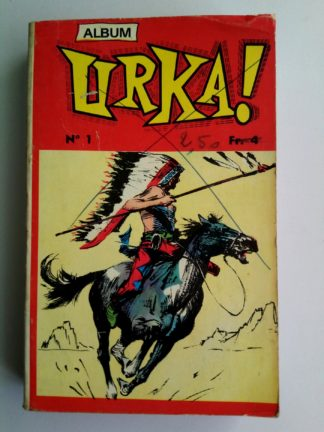 BD URKA ALBUM 1 (N°1-2) Remparts 1971 : KIT RINGO - BIL HOLDEN