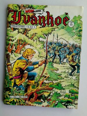 IVANHOE  N°203 La grande embuscade – Mon Journal 1984