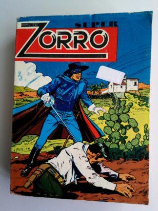 ZORRO ALBUM (N°72-74-75) SFPI JEAN CHAPELLE