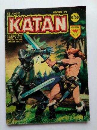 BD Katan n°1 Aredit 1967