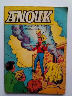ANOUK N°22 Jeunesse et Vacances 1969 – UNE VISITEUSE INDESIRABLE