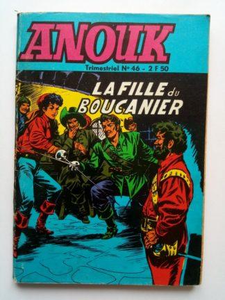 BD ANOUK N°46 Jeunesse et Vacances 1969 - Les Frères de la côte