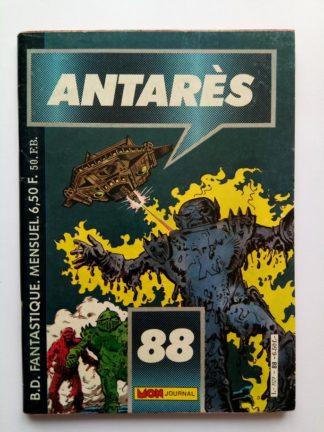 ANTARES N°88 Mon Journal 1986 Dramatique sauvetage