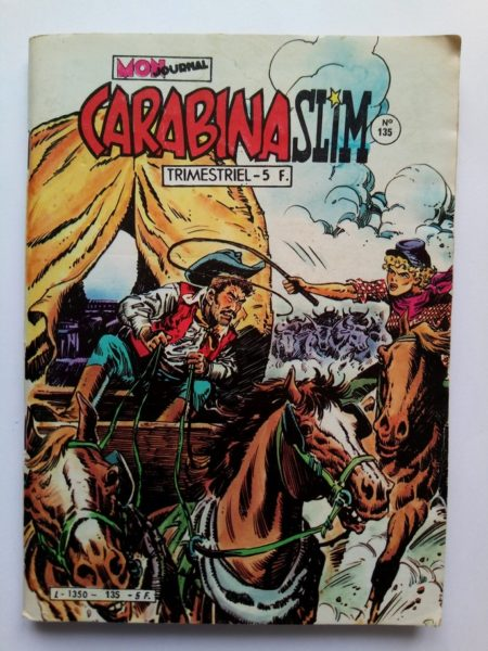 BD CARABINA SLIM N°135 Mon Journal 1982