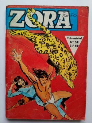 ZORA N°50 – DEFI A LA MORT (Jeunesse et Vacances 1979)
