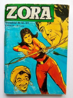 ZORA N°14 – LE MYSTERIEUX BIENFAITEUR  (Jeunesse et Vacances 1970)