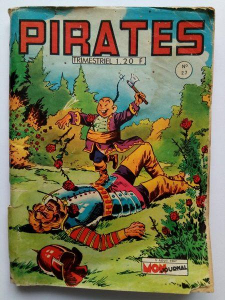 BD PIRATES n°27 (MON JOURNAL 1967)