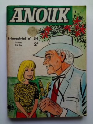 ANOUK N°34 – BOBBY HONTE DE LA FAMILLE (Jeunesse et Vacances 1971)