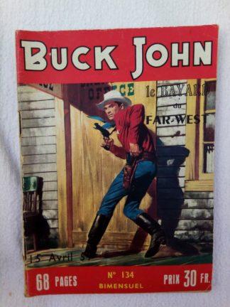 BD BUCK JOHN N°134 (IMPERIA 1959) Le complot du sorcier