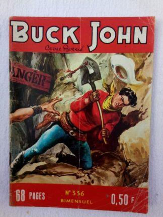BUCK JOHN (IMPERIA) N° 336 - Le pire héritage