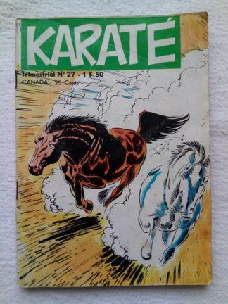 BD Karaté - le loup blanc (Jeunesse et Vacances) n° 27