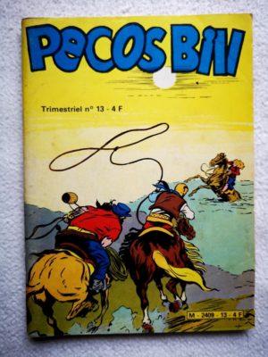 PECOS BILL (Jeunesse et Vacances) N°13 – Le secret de Carveston