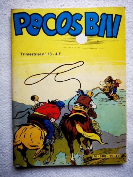 PECOS BILL (Jeunesse et Vacances) N°13 - Le secret de Carveston