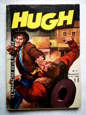 HUGH N°4 LONELY WOLF (Remparts 1964)