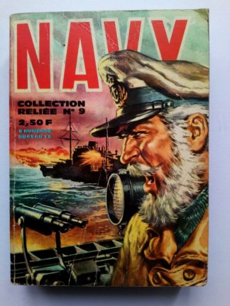 NAVY (IMPERIA) ALBUM RELIE 9 (N° 65-66-67-68-69-70-71-72)