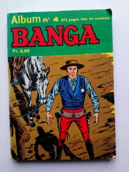 BANGA ALBUM RELIE 4 (N° 9 et 10) Editions des Remparts 1968