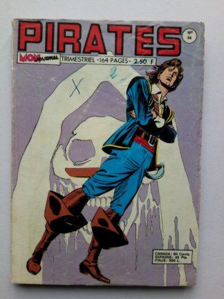 PIRATES (MON JOURNAL) n° 64 Gwenn - Le baiser mortel - 1976