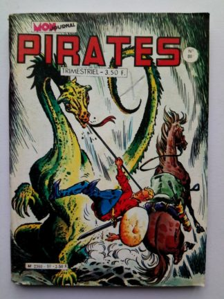 PIRATES (MON JOURNAL) n° 80 Captain Rik Erik - Le fourgon rouge