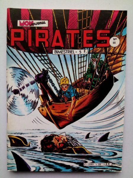 PIRATES (MON JOURNAL) n° 88 Captain RIK-ERIK - Enterrement à Merengué