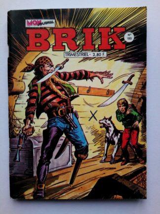 BRIK (Mon Journal) N° 183 Le Corsaire de Fer