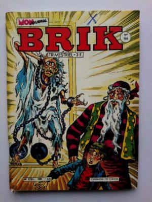 BRIK (Mon Journal) N° 189 Le Corsaire de Fer - Le monstrueux spectre de la nuit