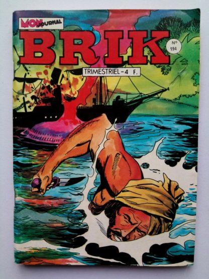 BRIK (Mon Journal) N° 194 Le Corsaire de Fer - La ville martyre