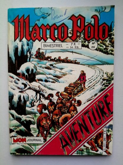 MARCO POLO (Mon Journal) N° 213 La piste blanche